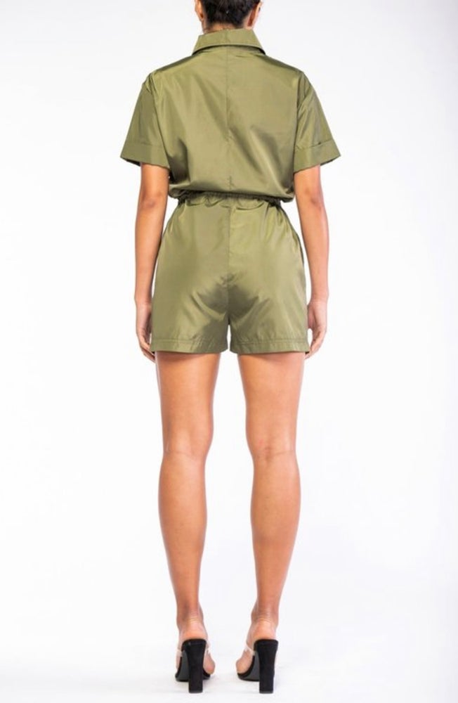 Image of Windbreaker Romper