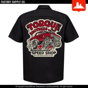 Torque Brothers TB047 - '62 Nova gasser - Red Kap work shirt