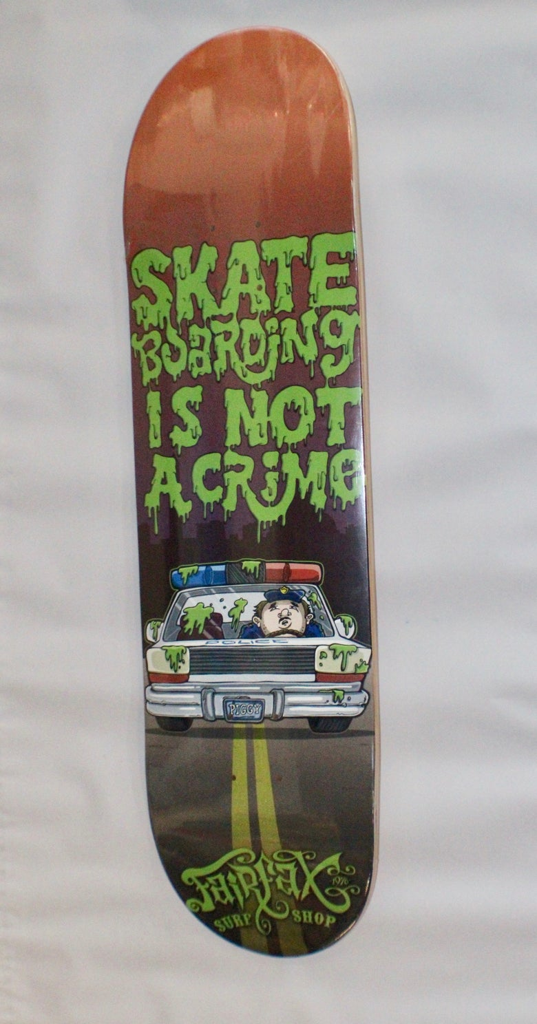 Image of Skateboarding is not a Crime Deck