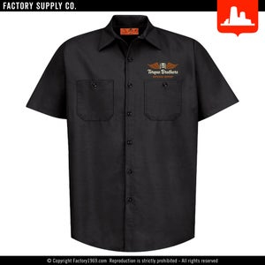 Torque Brothers TB049 - '33 hot rod - Red Kap work shirt