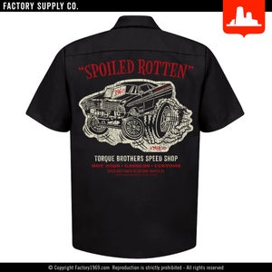 Torque Brothers TB050 - Falcon gasser - Red Kap work shirt