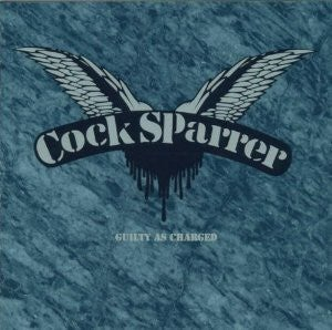 """Image of COCK SPARRER - """"Guilty As Charged"""" LP (180g, Color VInyl)"""