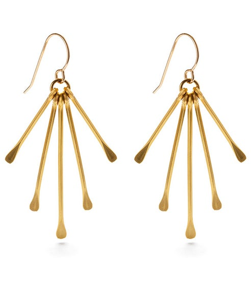 Image of Amano Rain Goddess Earrings - Petite