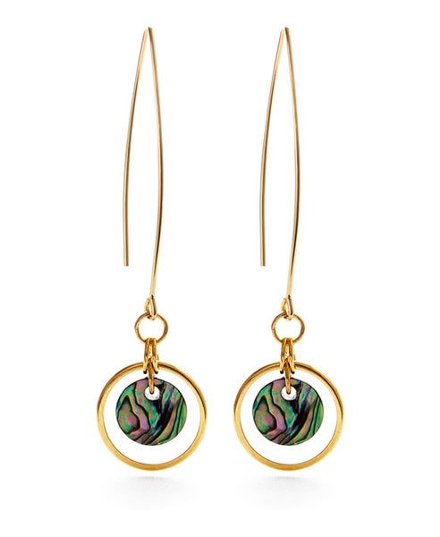 Image of Amano Covelo Abalone Drop Earrings