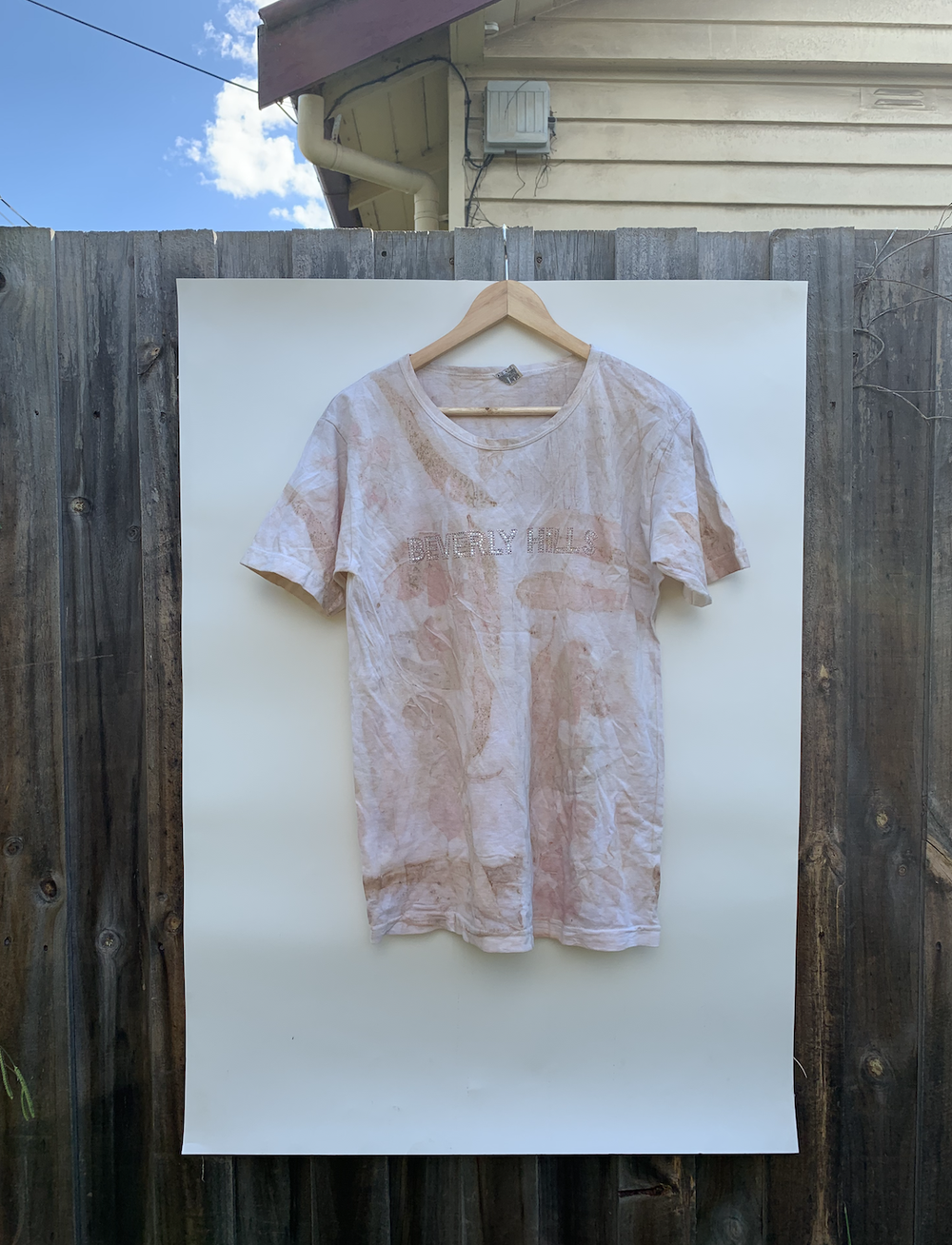 Image of Eco-Dyed Beverly Hills Tee