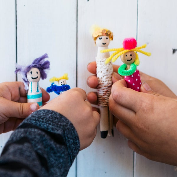 Image of Peg Doll Art Pack