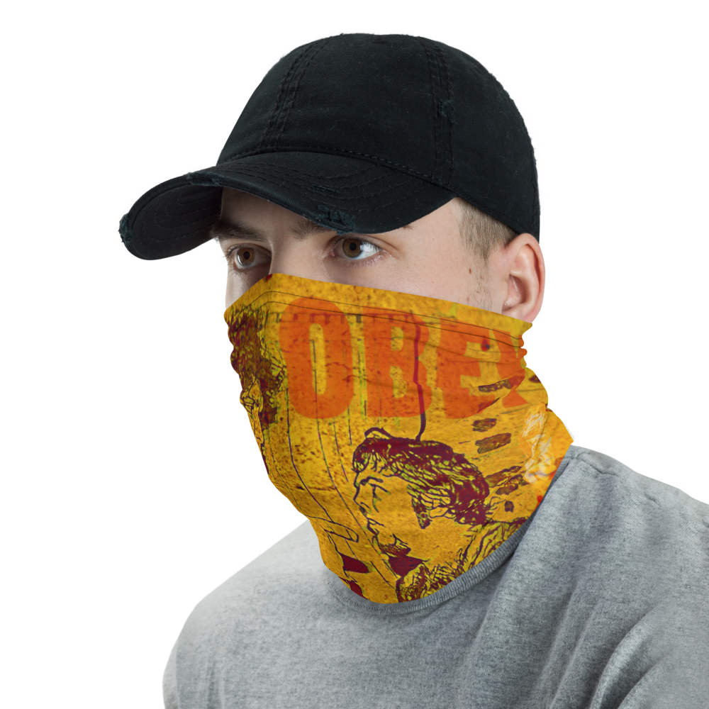 """Image of OBEY The Giant BabyfaceMask™ (19"""" x 19"""", Andre vs Lawler 19"""" x 19"""" CPSIA Compliance Certified)"""