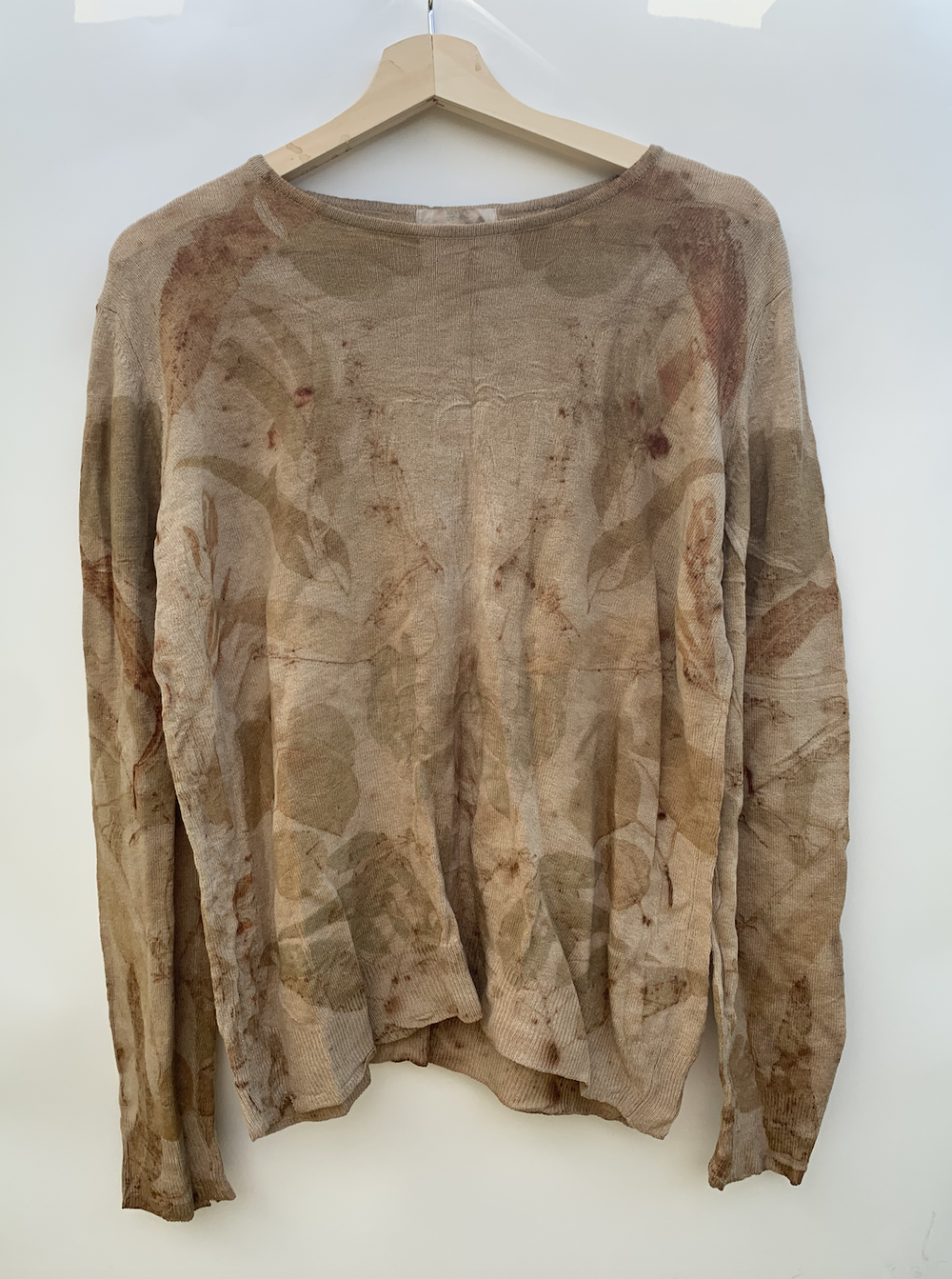 Image of Eco-Dyed Wool Jumper