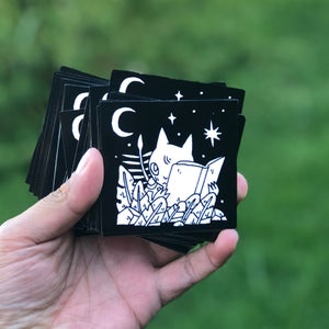Image of Night Reader Sticker