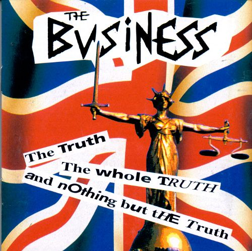 Image of The Business - The Truth, The Whole Truth and Nothing But the Truth LP