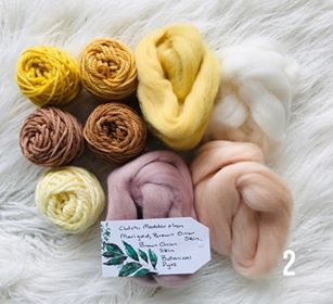 Botainial Hand Dyed Exclusive Fibre Packs