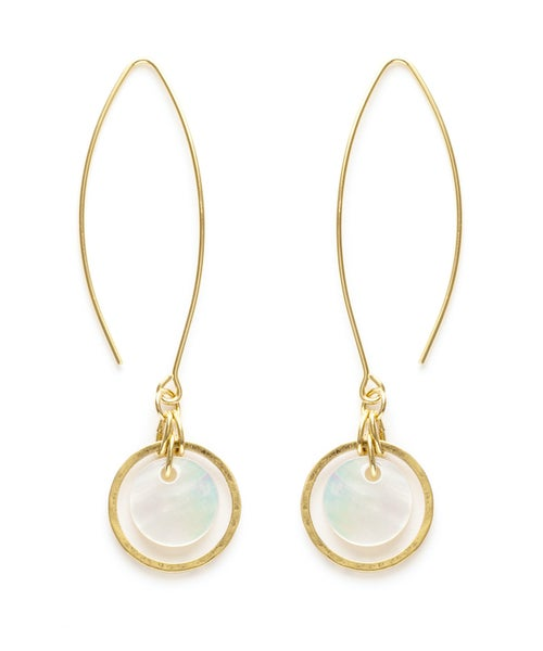 Image of Amano Covelo Mother Of Pearl Earrings