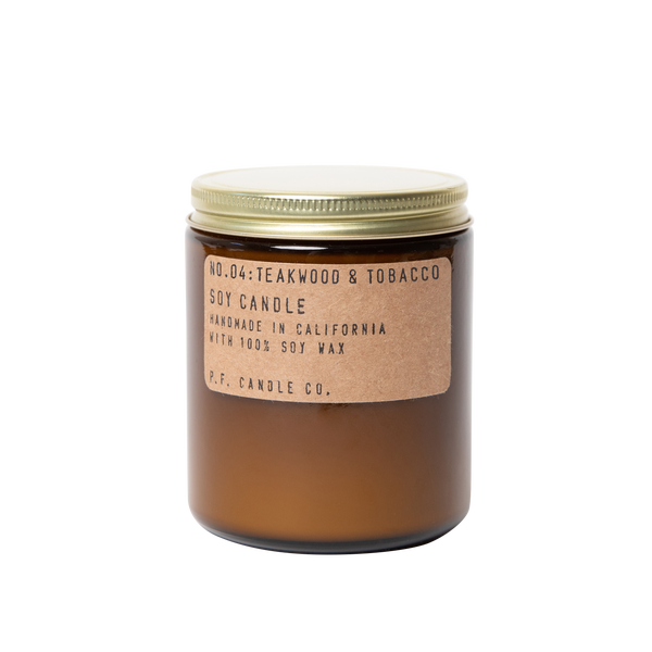 Image of PF Candle: Teakwood + Tobacco