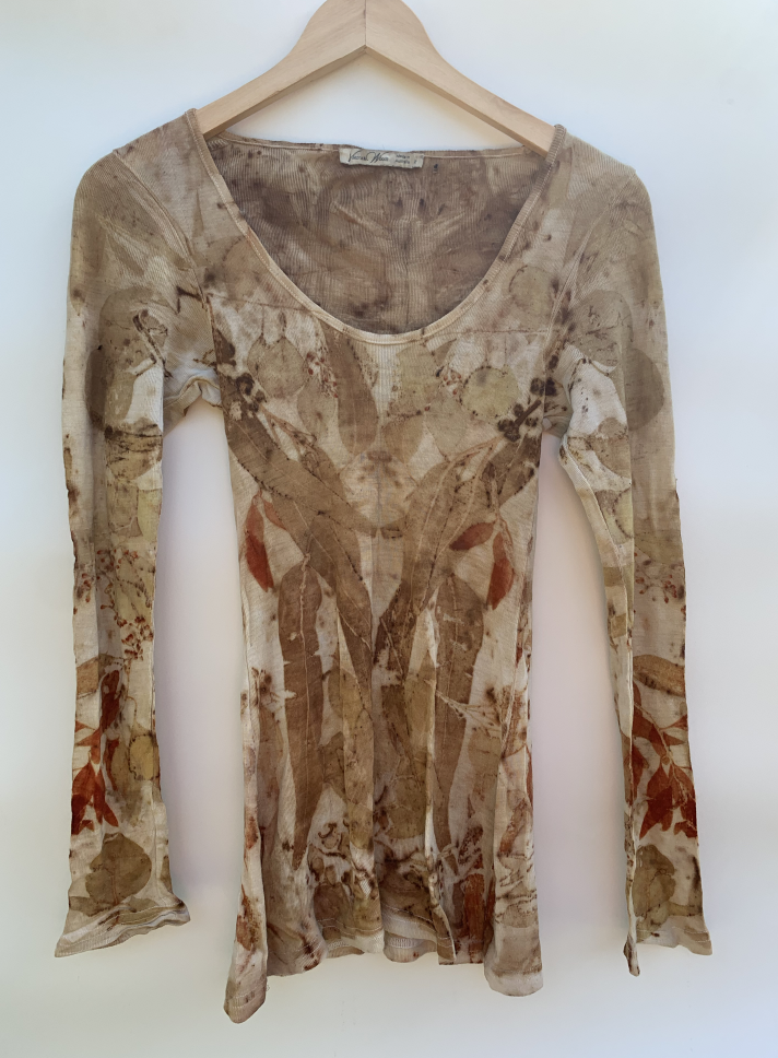 Image of Eco - Dyed Long Sleeve Top