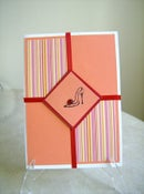 Image of Miss DIVA Shoe Greeting Card