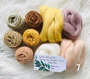 Botainial Hand Dyed Exclusive Fibre Packs 4