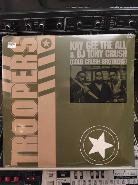 Image of Kay Gee The All And DJ Tony Crush ‎– Troopers