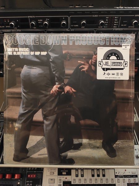 Image of Boogie Down Productions ‎– Ghetto Music: The Blueprint Of Hip Hop