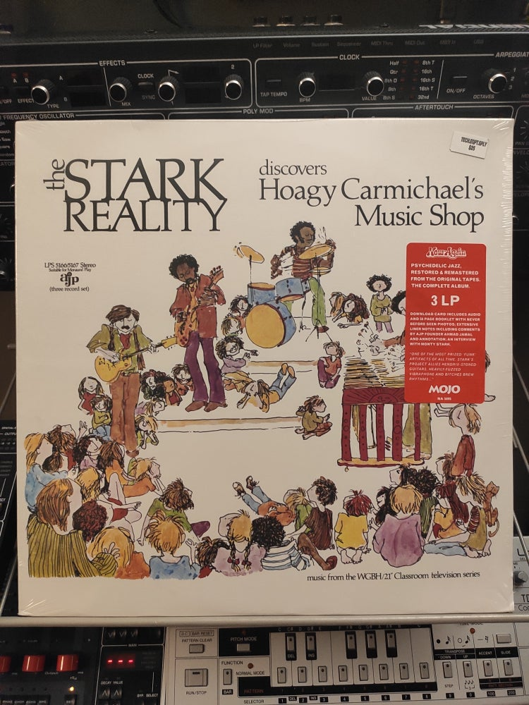 Image of The Stark Reality ‎– Discovers Hoagy Carmichael's Music Shop