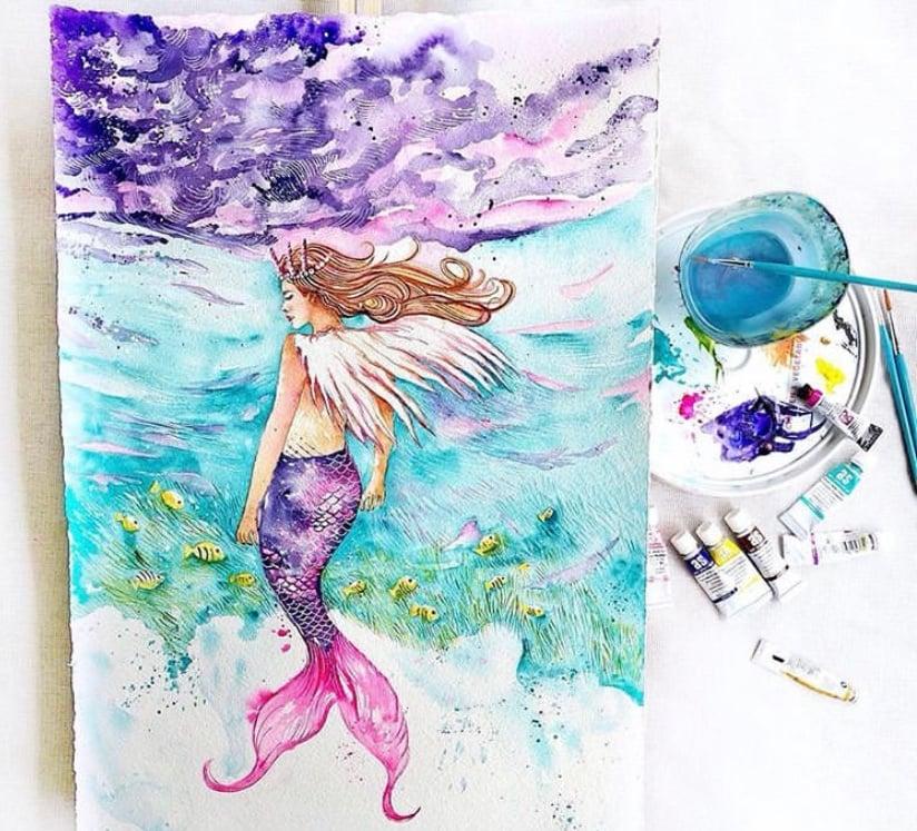 Image of Mona - The Fairy Mermaid FREE POSTAGE