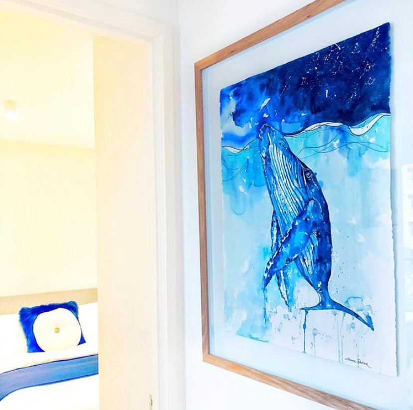 Image of Blue - The great blue Whale FREE POSTAGE