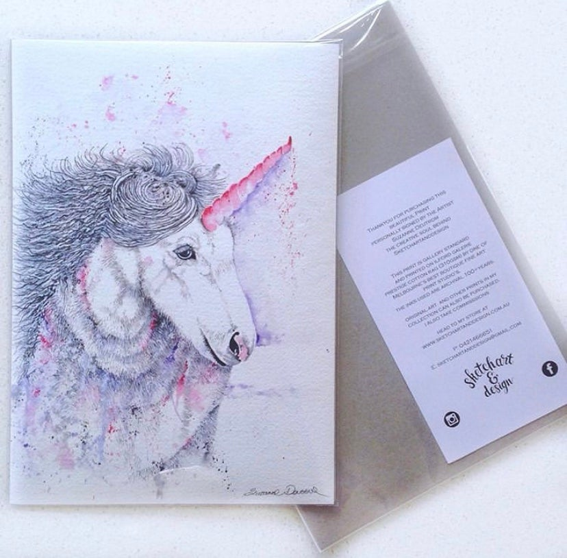 Image of Pearl - The majestic Unicorn with FREE POSTAGE