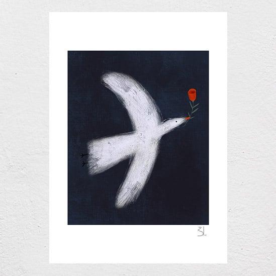 Image of Dove Print