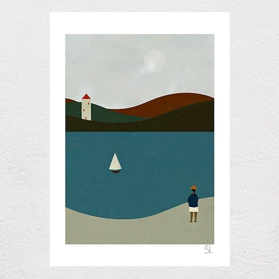 Image of English Summer Print