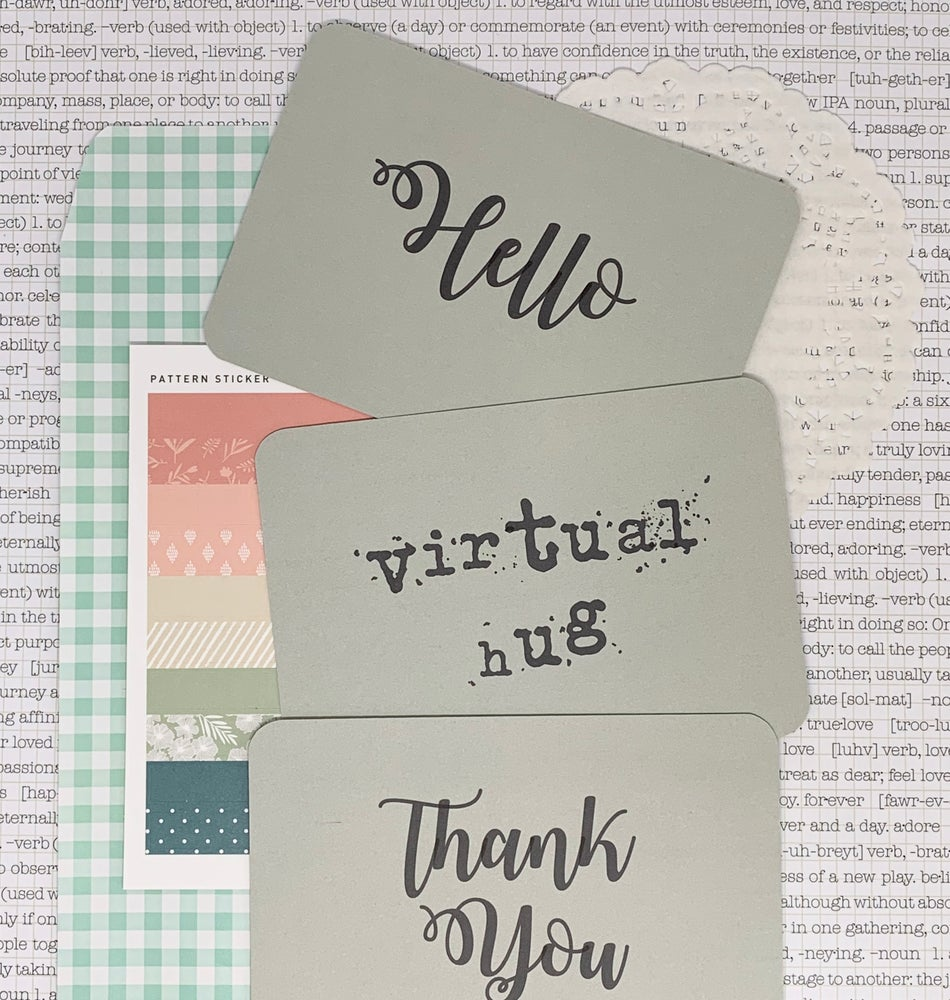 Image of happy mail postcards