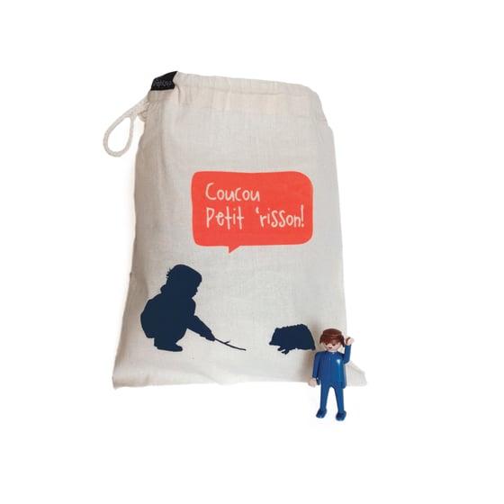 Image of Sac de transport pour jouets + Playmob recyclé