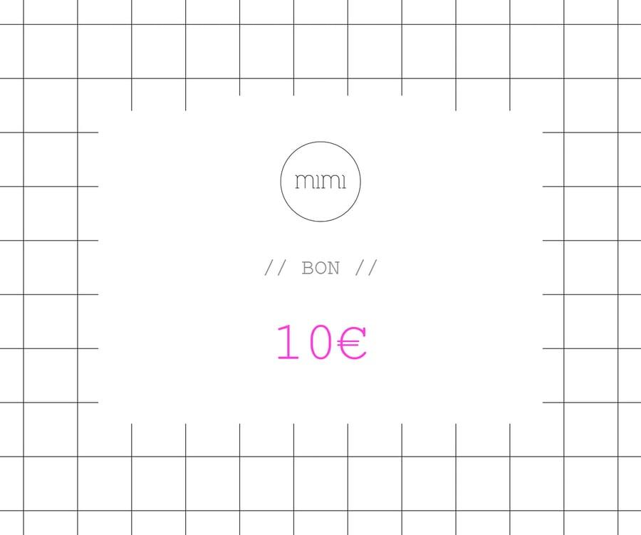 Image of BON 10 // VOUCHER 10