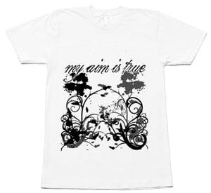 Image of My Aim Is True White Shirt