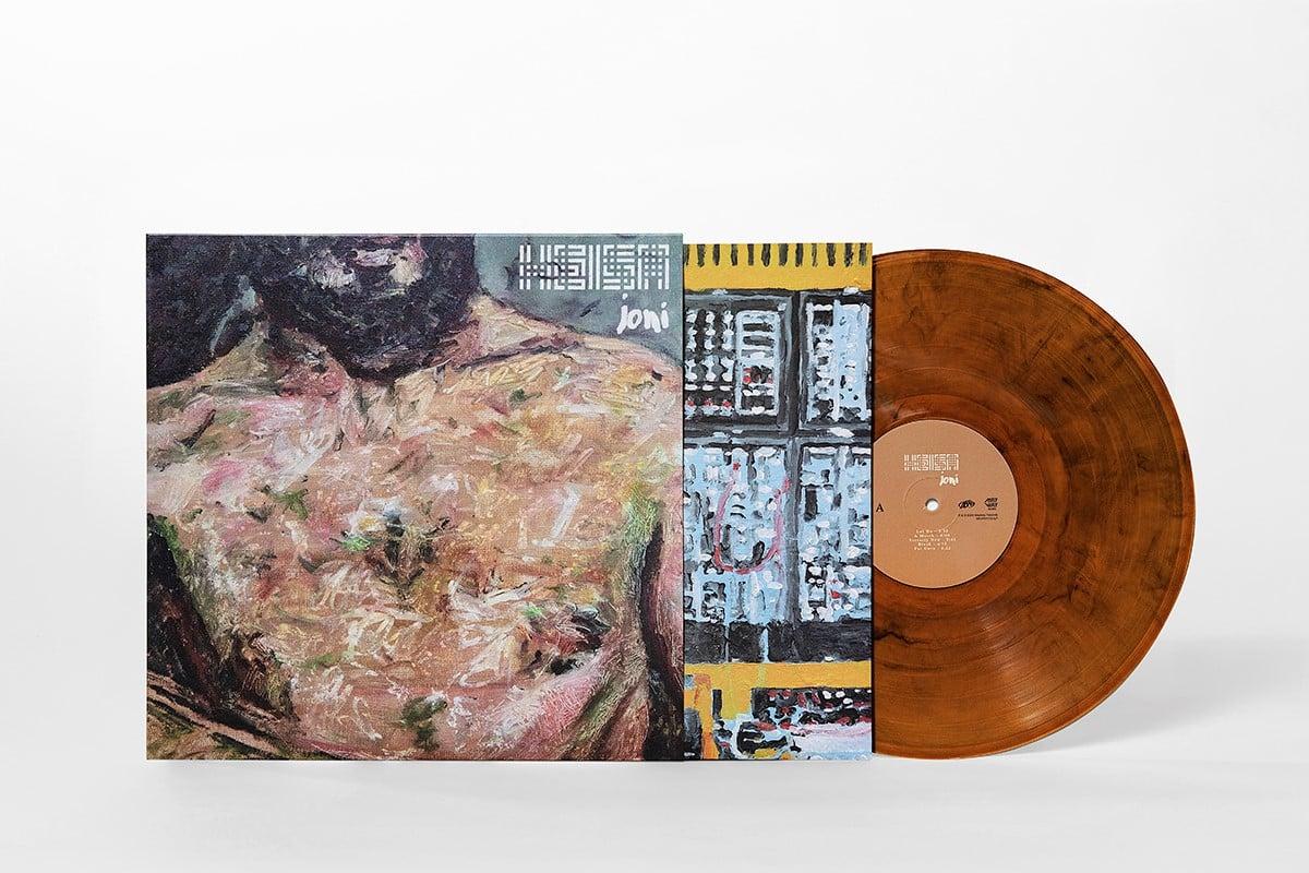 Image of HEISA / joni (LP/Marbled Vinyl)