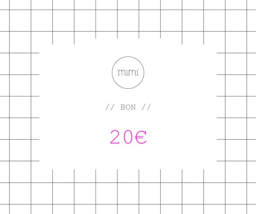 Image of BON 20 // VOUCHER 20