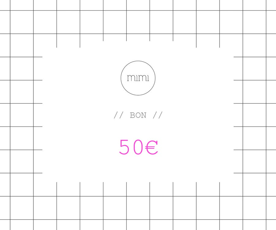 Image of BON 50 // VOUCHER 50