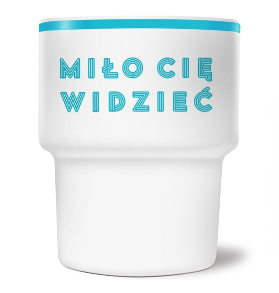 Image of RETRO CUP - Miło Cię widzieć