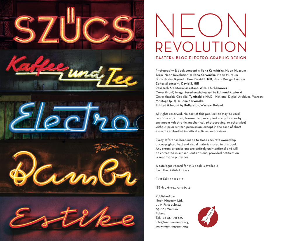 Image of NEON REVOLUTION - NEW BOOK !