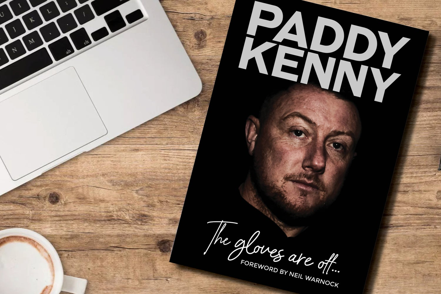 Image of *Signed* PRE-ORDER - Paddy Kenny: The Gloves Are Off - My Story