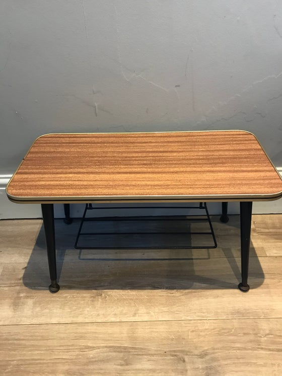 Image of Small Mid Century Coffee Table