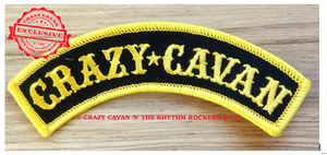 Image of CRAZY CAVAN ROCKER PATCH - NEW DESIGN