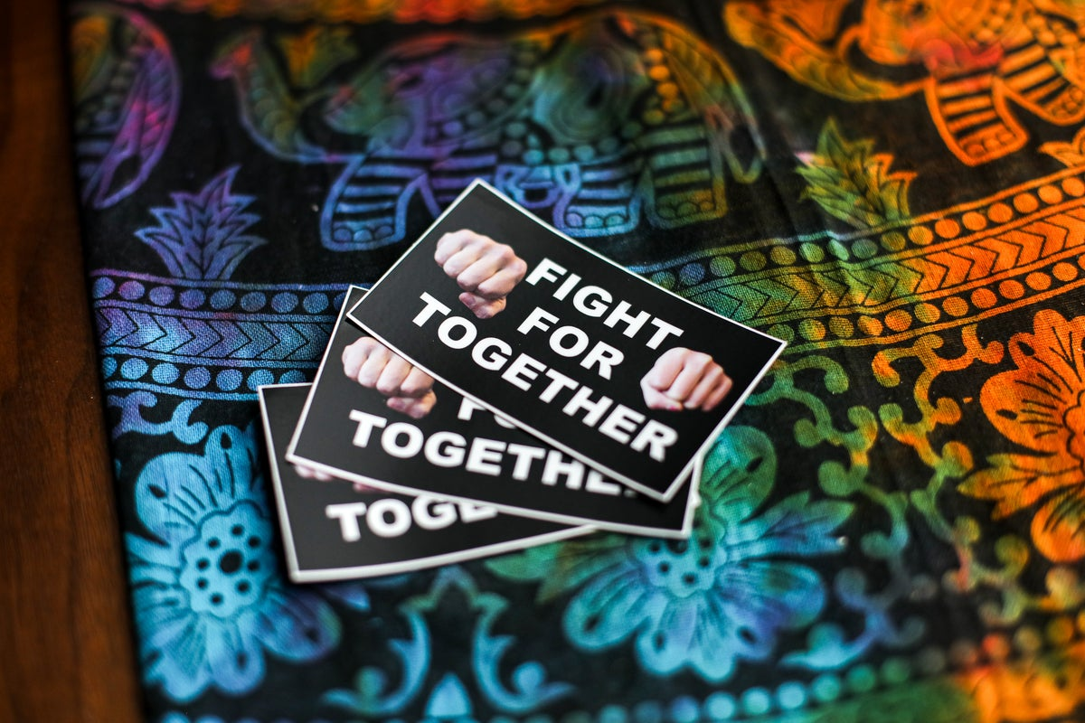 Image of Fight for Together Stickers