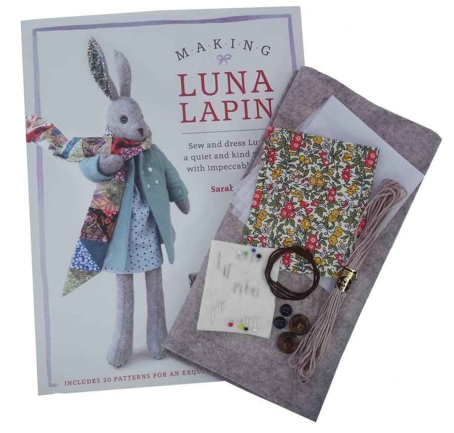 Image of Luna Lapin - Marl Felt or Ivory Felt Kit