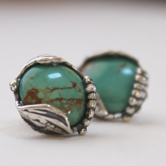 Image of Royston Turqouise Studs - by Crystal Hartman