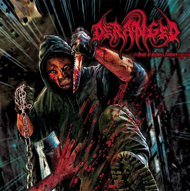 Image of DERANGED - Deeds Of Ruthless Violence CD / CD-DigiPack