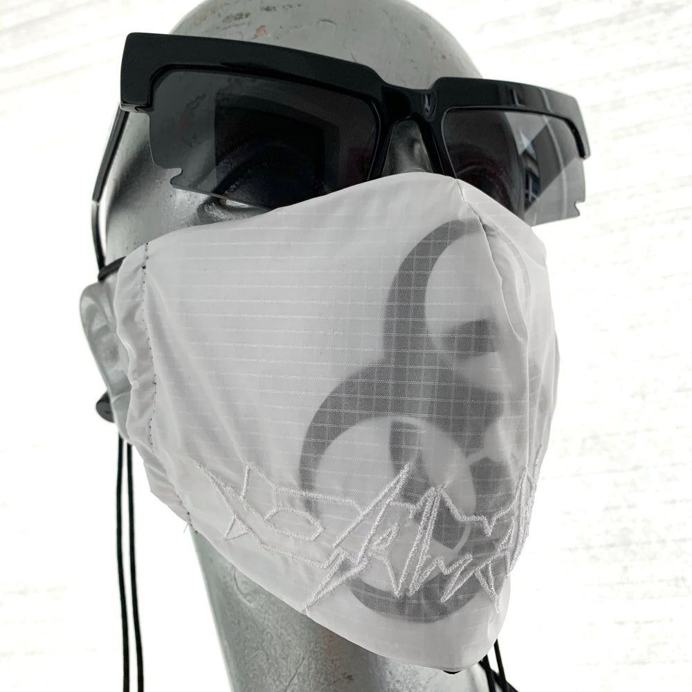 Image of Covid19 : Hazmat2 embroidery mask ( 20% off discount )