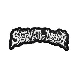 Image of SYSTEMATIC DEATH - Logo2 - Patch (Official)