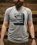 Image 3 of Support Small Business Tee