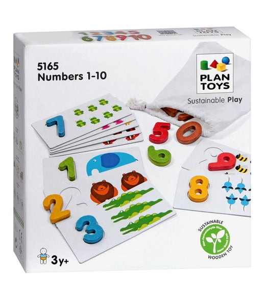 Image of Plan Toys Numbers 1-10