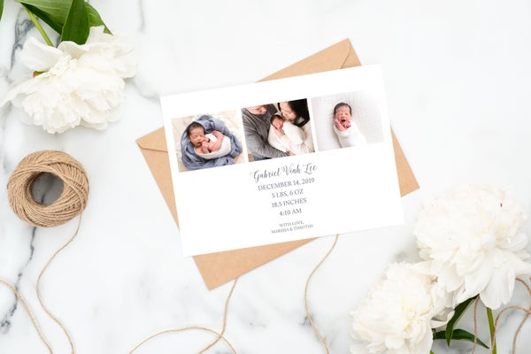 Image of Birth Announcement Templates