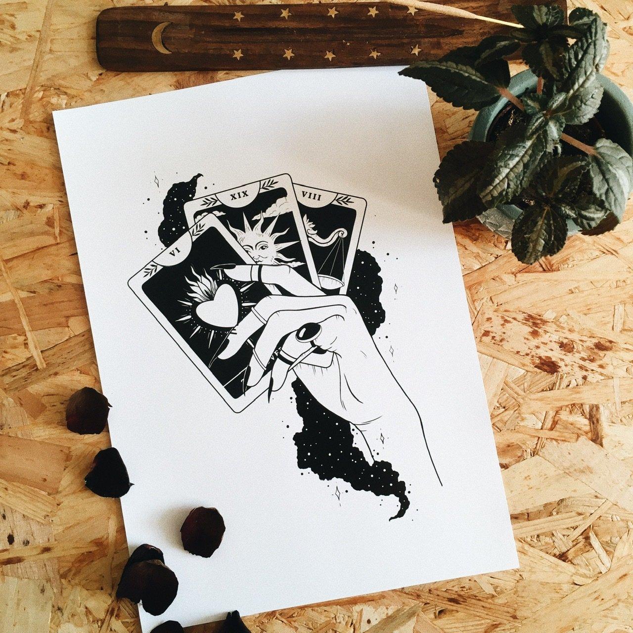 Image of Tarot Print